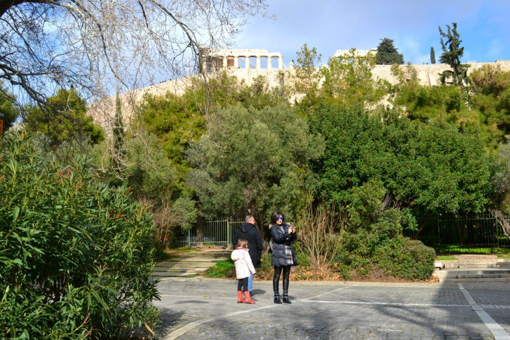 The most beautiful street in Athens