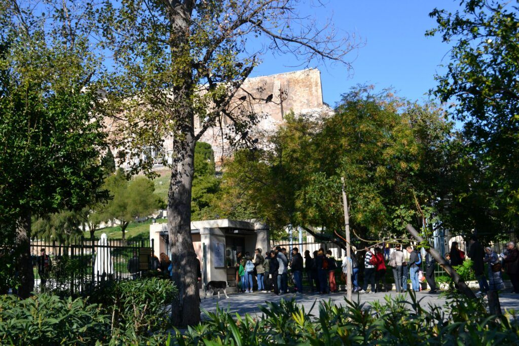 Acropolis tickets-At the Acropolis of Athens