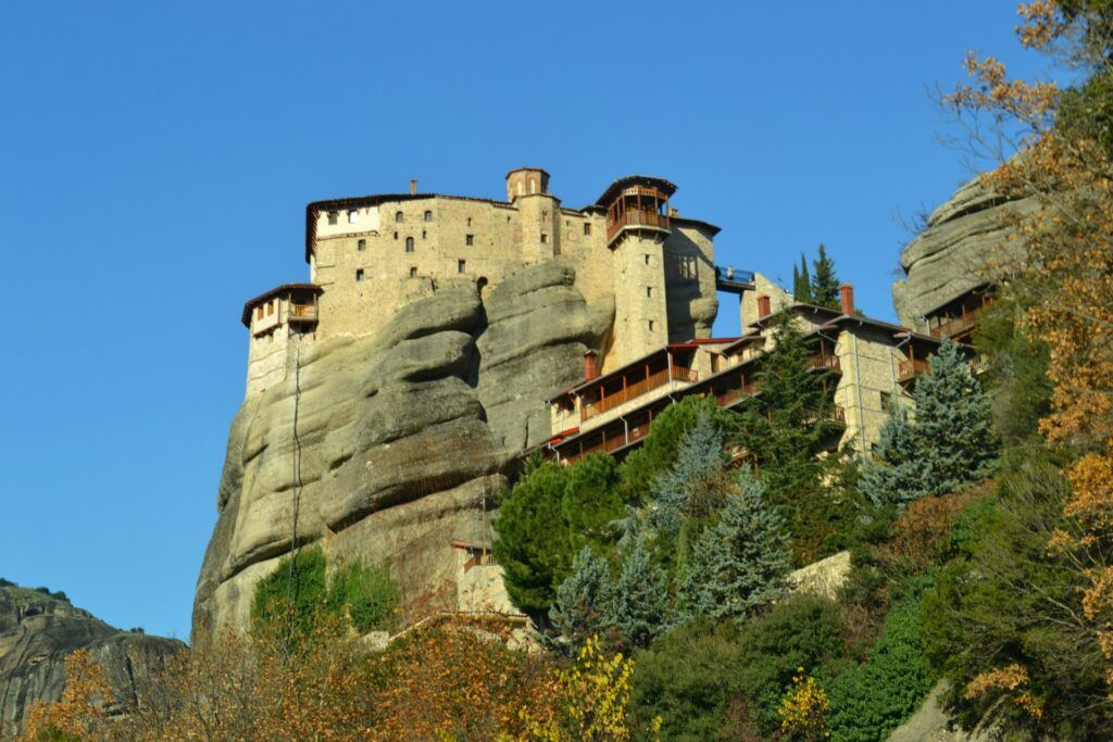 Monasteries, Meteora, Greece, Thessaly-10 must-see destinations in mainland Greece-