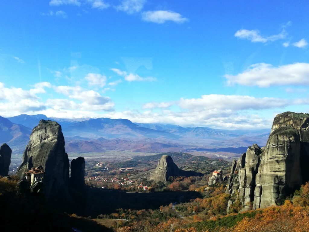 Meteora Greece-10 must-see destinations in mainland Greece