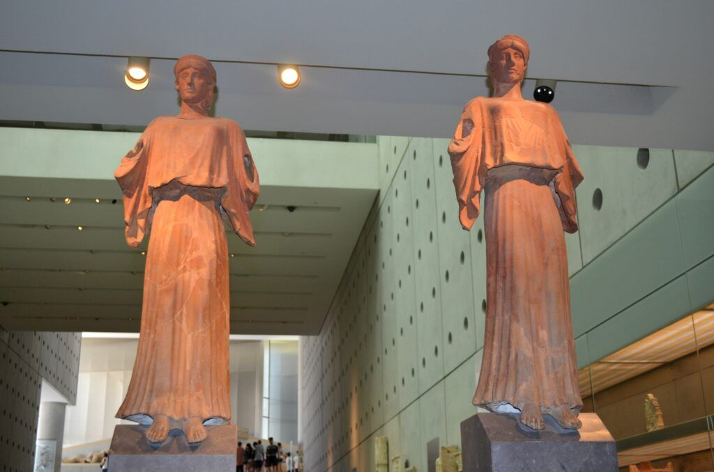 winged victoris_acropoli' s museum, Athens, Greece