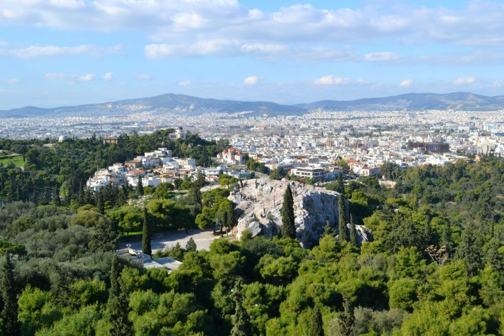 Aryan Ice hill -At the Acropolis of Athens