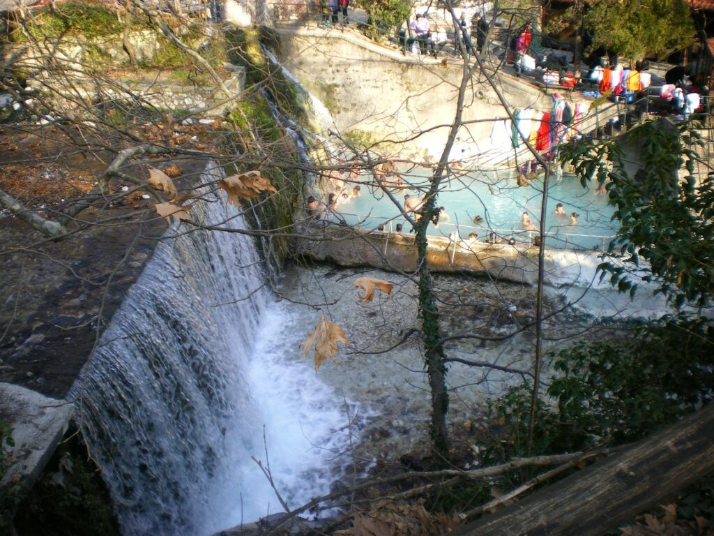 Pozar Baths-10 must-see destinations in mainland Greece
