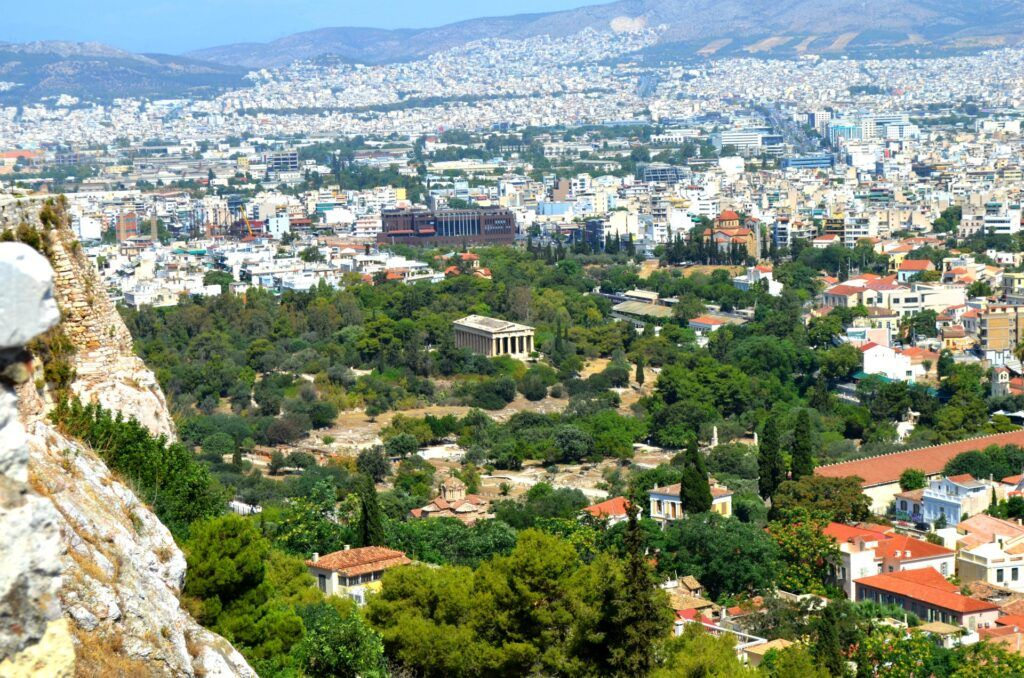 Temple of Hephaestus, Athens-At the Acropolis of Athens
