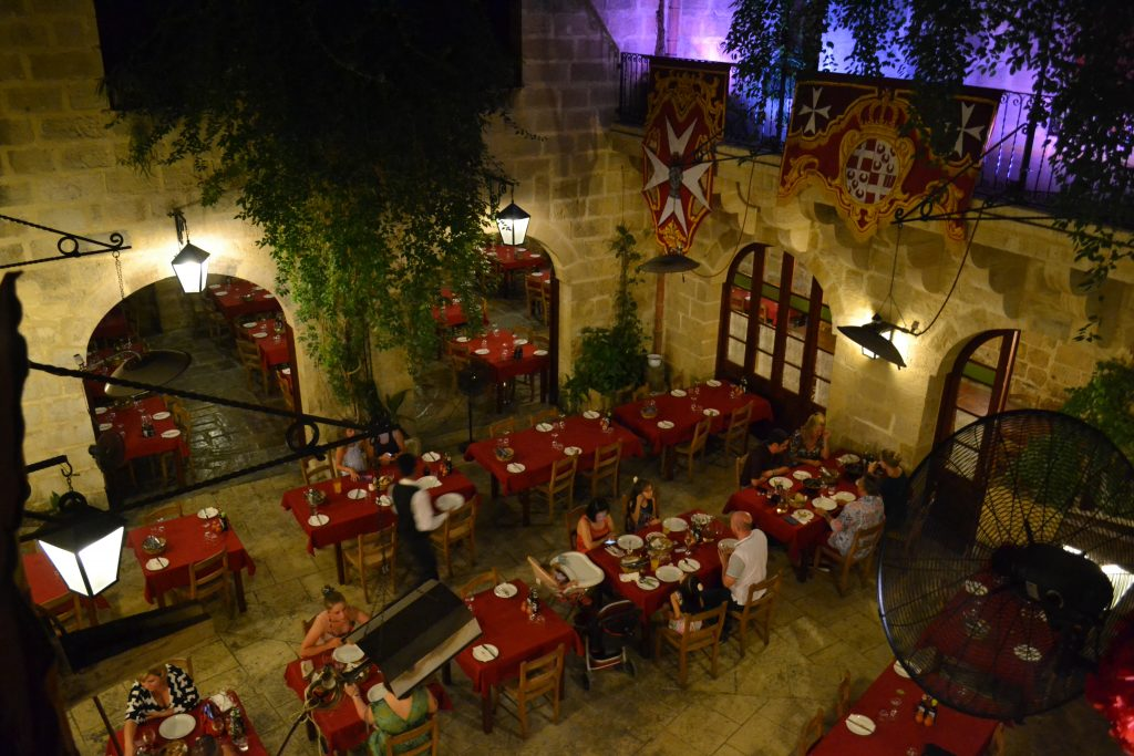 Dinner & Illusion Show at The Chamber of Mysteries in Malta