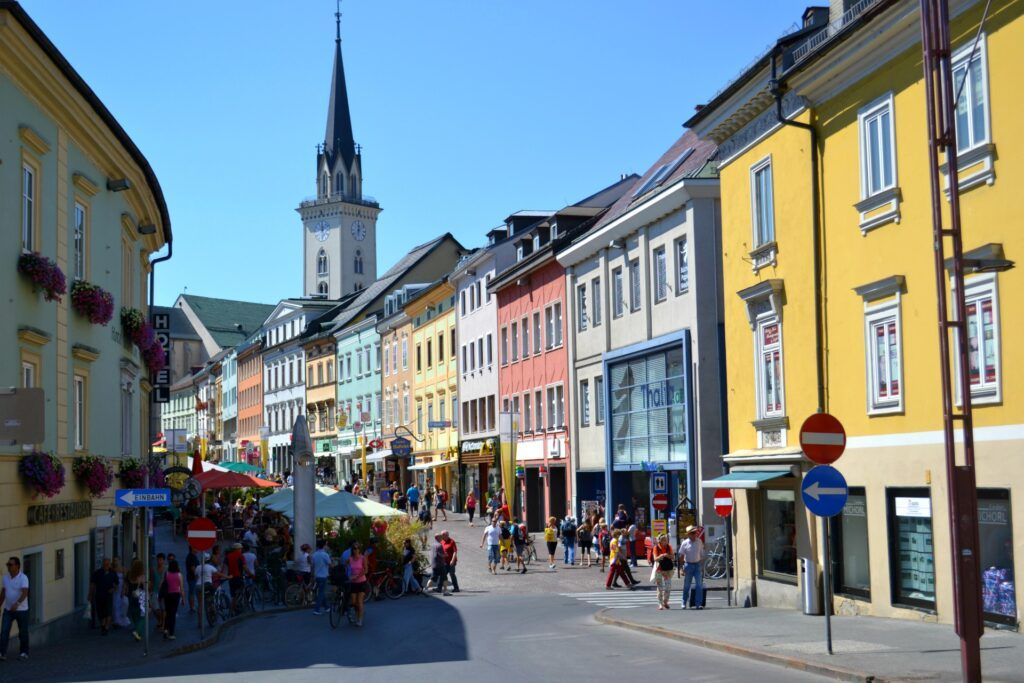 Holidays in Klagenfurt and Lake Worthersee, Austria - Villach