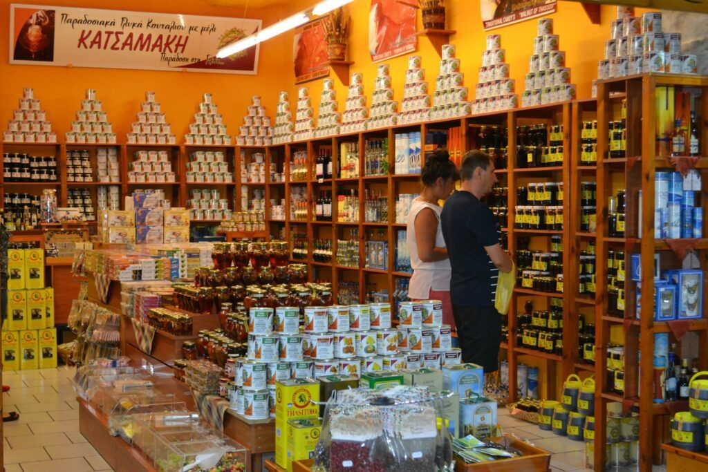 Local Products, Thassos, Greece