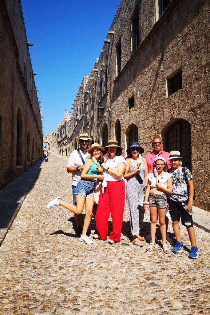 Unesco World Heritage Sites in Greece: A quick guide, Rhodes, street of the Knights of Rhodes