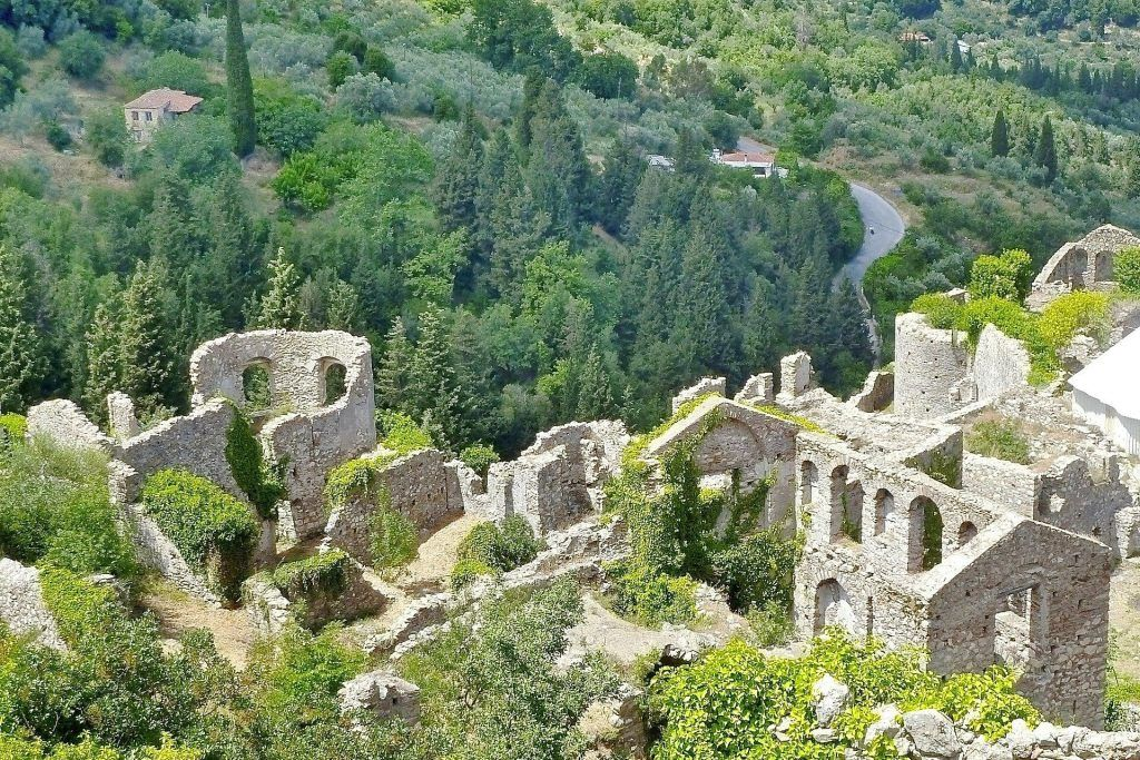 Unesco World Heritage Sites in Greece: A quick guide. Mystras, Peloponnese